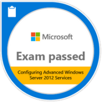 Exam 412: Configuring Advanced Windows Server 2012 Services