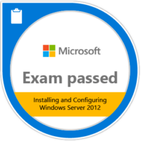Passing Exam 411: Administering Windows Server 2012 validates the skills and knowledge necessary to administer a Windows Server 2012 infrastructure in an enterprise environment. Candidates demonstrate the ability to maintain a Windows Server 2012 infrastructure, such as user and group management, network access and data security.Passing Exam 411: Administering Windows Server 2012 validates the skills